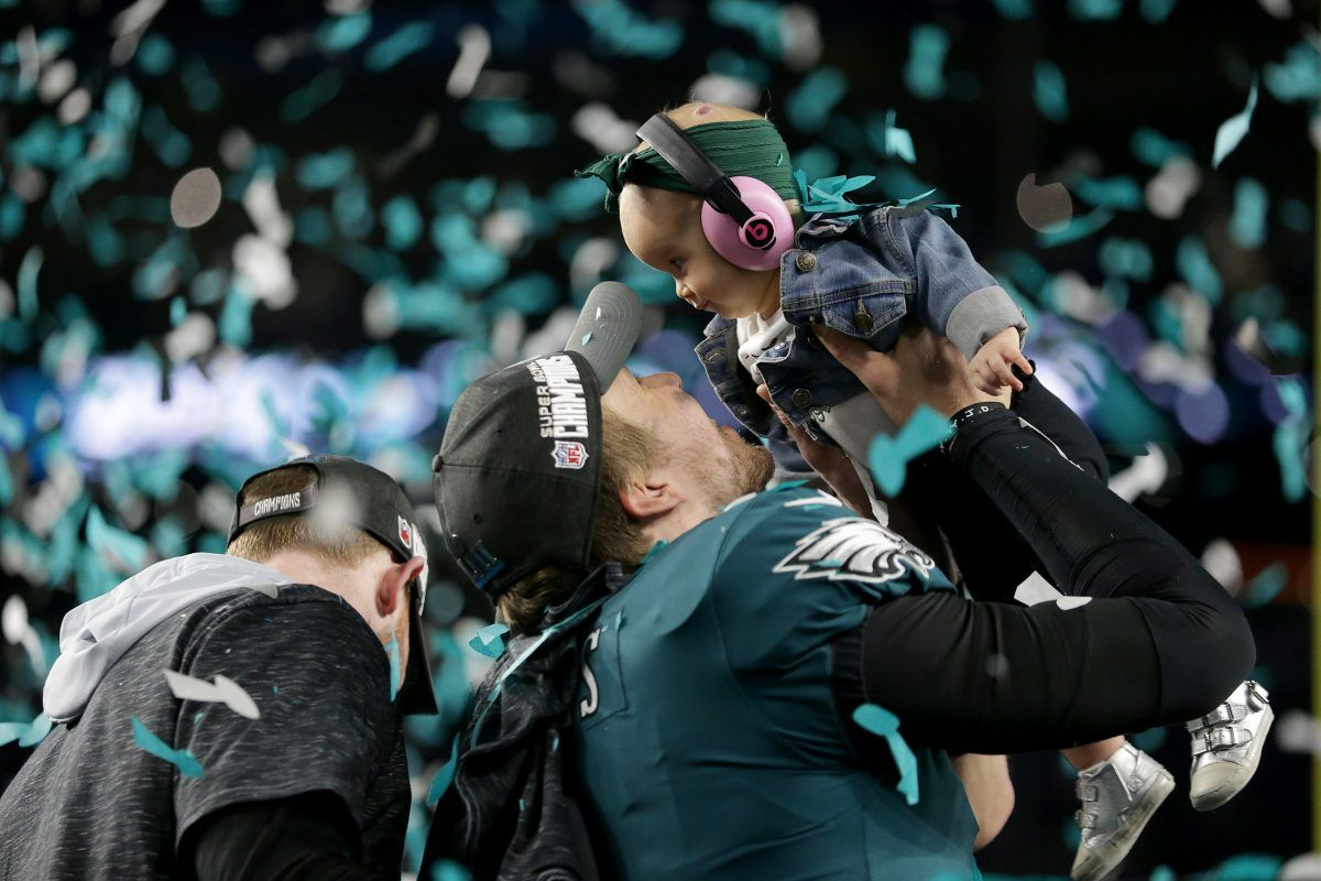 Nick Foles Nails It Eagles Super Bowl Win Is A Family Affair For Us All Eagles Super Bowl Super Bowl Super Bowl Wins