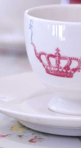 crown and crumpet teacup- Saw one of these for the first time in a long time today!! <3