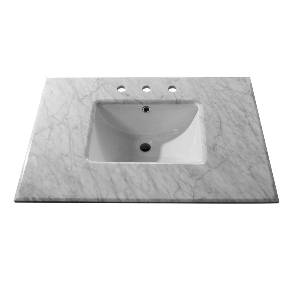 32 Inch W Single Sink Vanity Cabinet Only In White With Images
