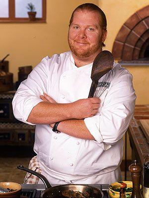 Mario Batali, my favorite of the Iron Chef's