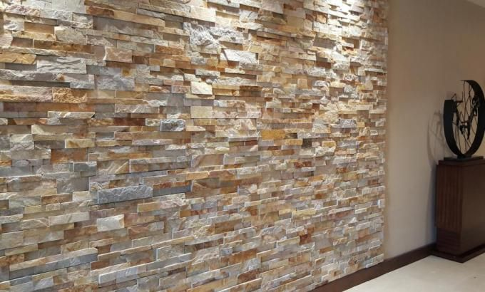 Interior Stacked Stone Veneer Wall Panels Rock Veneer Interior