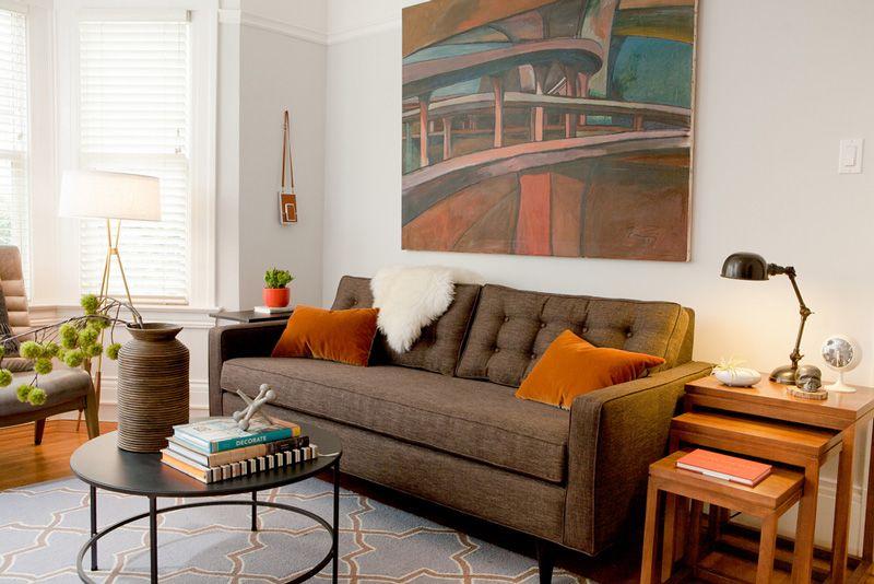 Cuscini Marroni Per Divano.Pin Di Lorenzo Magi Architetto Su Living Chelsea Moderno E Style