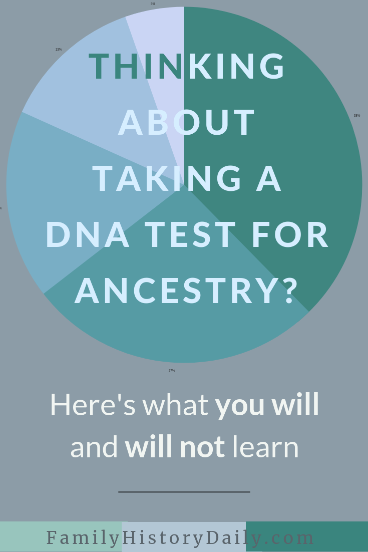 What You Will and Will Not Learn by Taking a DNA Test for Ancestry