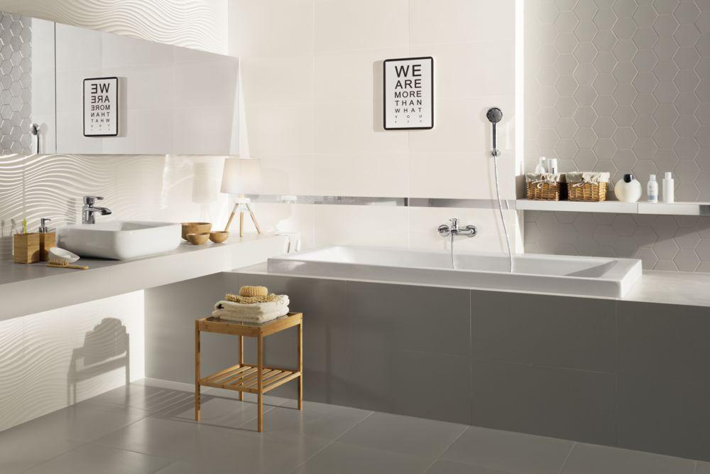 Glazura Satini Leroy Merlin Bathroom Inspiration Gray Hex