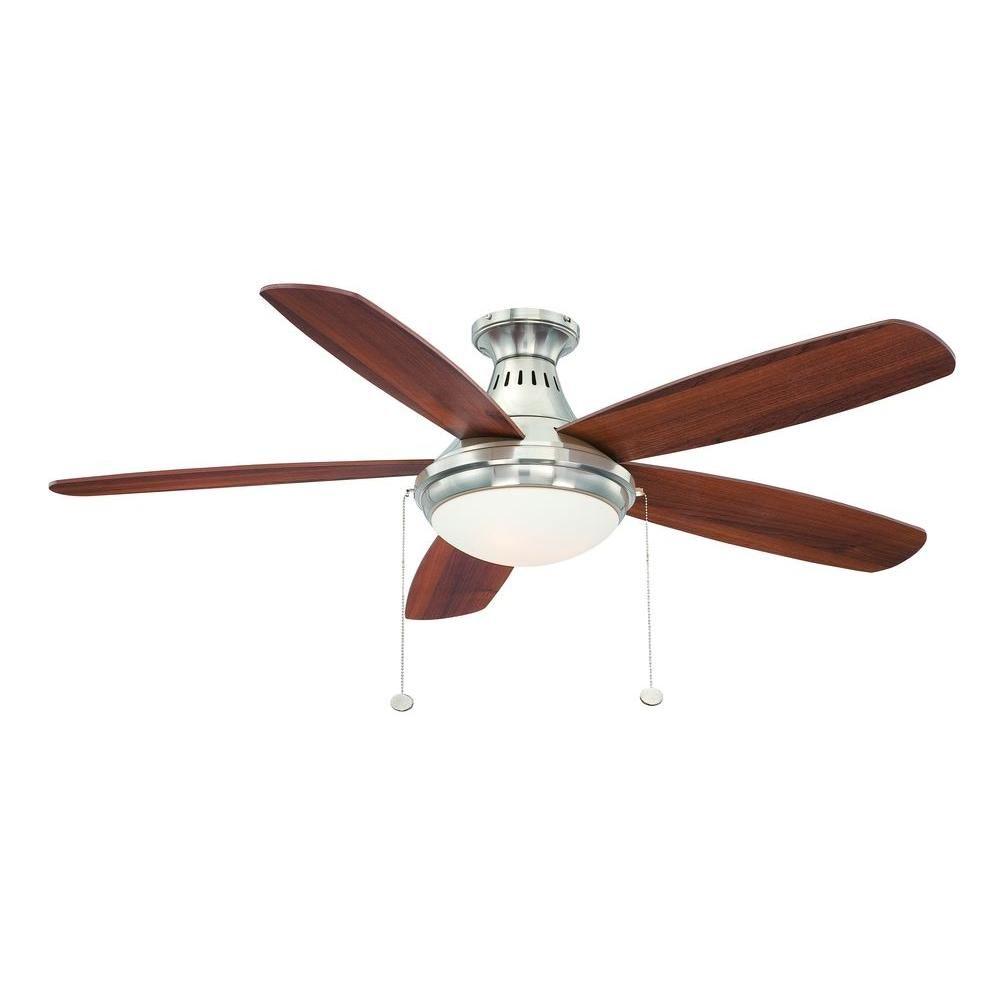 flush mount ceiling fan home depot. Flush Mount Brushed Nickel Ceiling At The Home Depot, Boys\u0027 Bedroom? Fan Depot L