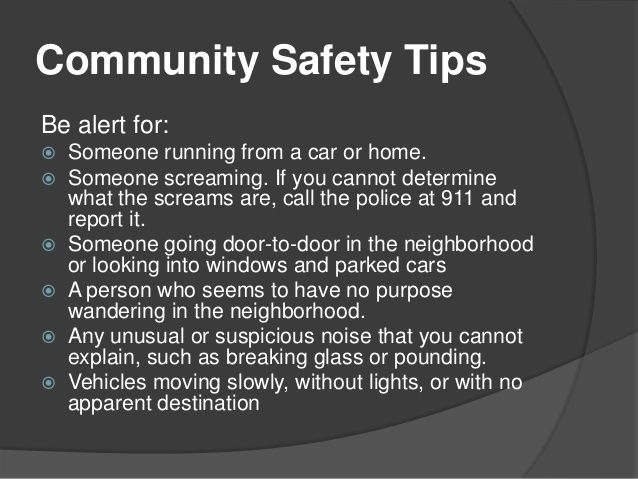 Crime prevention and personal safety tips to help keep you and - crime prevention officer sample resume
