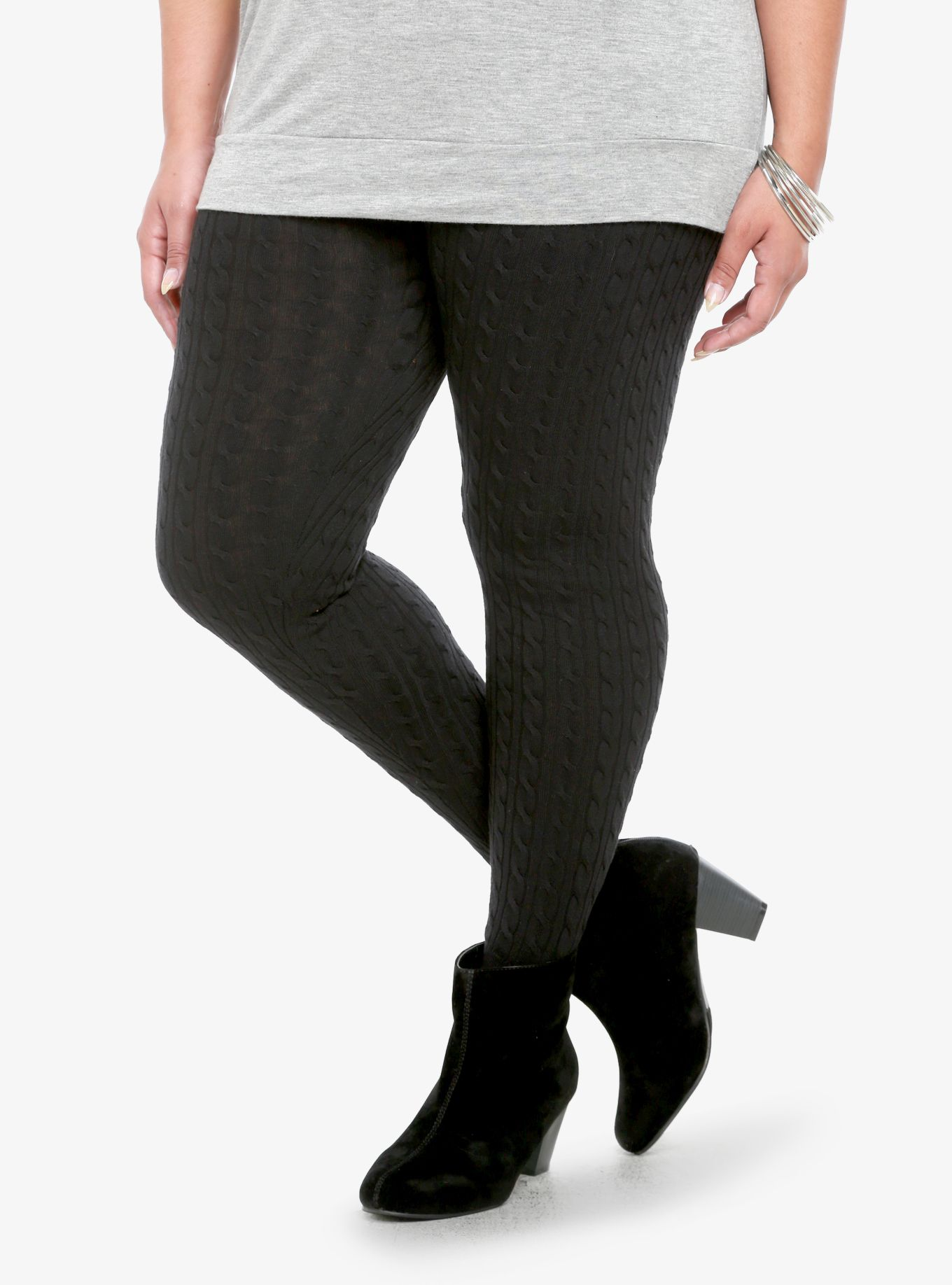 d9af00d7dba551 Cable Knit Leggings | Torrid | Clothes | Knit leggings, Cable knit ...