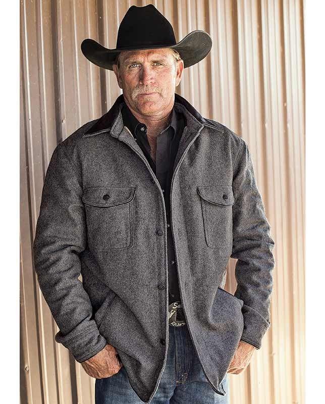 Men S Gray Wool Jacket Mens Winter Fashion Mens Western Wear Mens Fashion Rugged