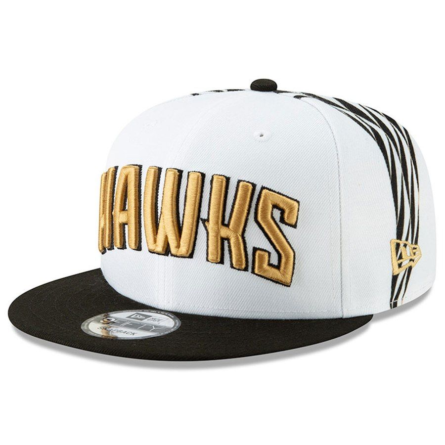timeless design 98da9 03b4d ... czech mens atlanta hawks new era white 2018 city edition on court  9fifty snapback adjustable hat