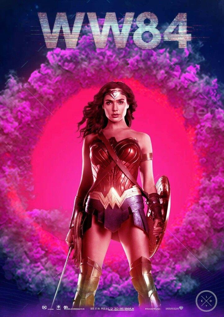 Wonder Woman 1984 Movie Poster Wonderwoman Ww84 Dc Fantastic Movie Posters Scifimovies Posters Horrormovies Posters Ac Wonder Woman Gal Gadot Super Heroi