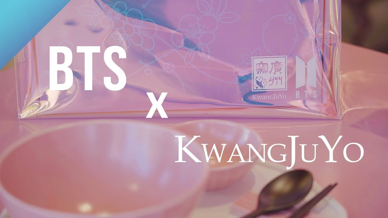 BTS collaborates with Korean traditional ceramics brand KwangJuYo