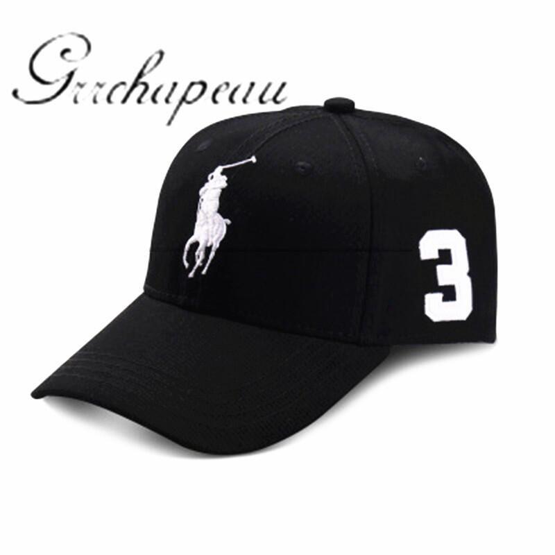 Snapback chapeau 2017 best-vente femelle mâle équine POLO chapeau de sports  d'été