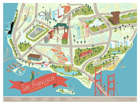 San Francisco by Edward Juan | My little world map | Map ... on denver map downtown, savannah map downtown, portland hotels downtown, st. louis map downtown, sonoma map downtown, aspen colorado hotels downtown, los angeles map downtown, paris map downtown, texas map downtown, houston map downtown, flagstaff map downtown, map of downtown, alaska map downtown, manhattan map downtown, santa cruz map downtown, north chicago map downtown, cancun hotel map downtown, jersey city map downtown, columbia map downtown, tallahassee map downtown,