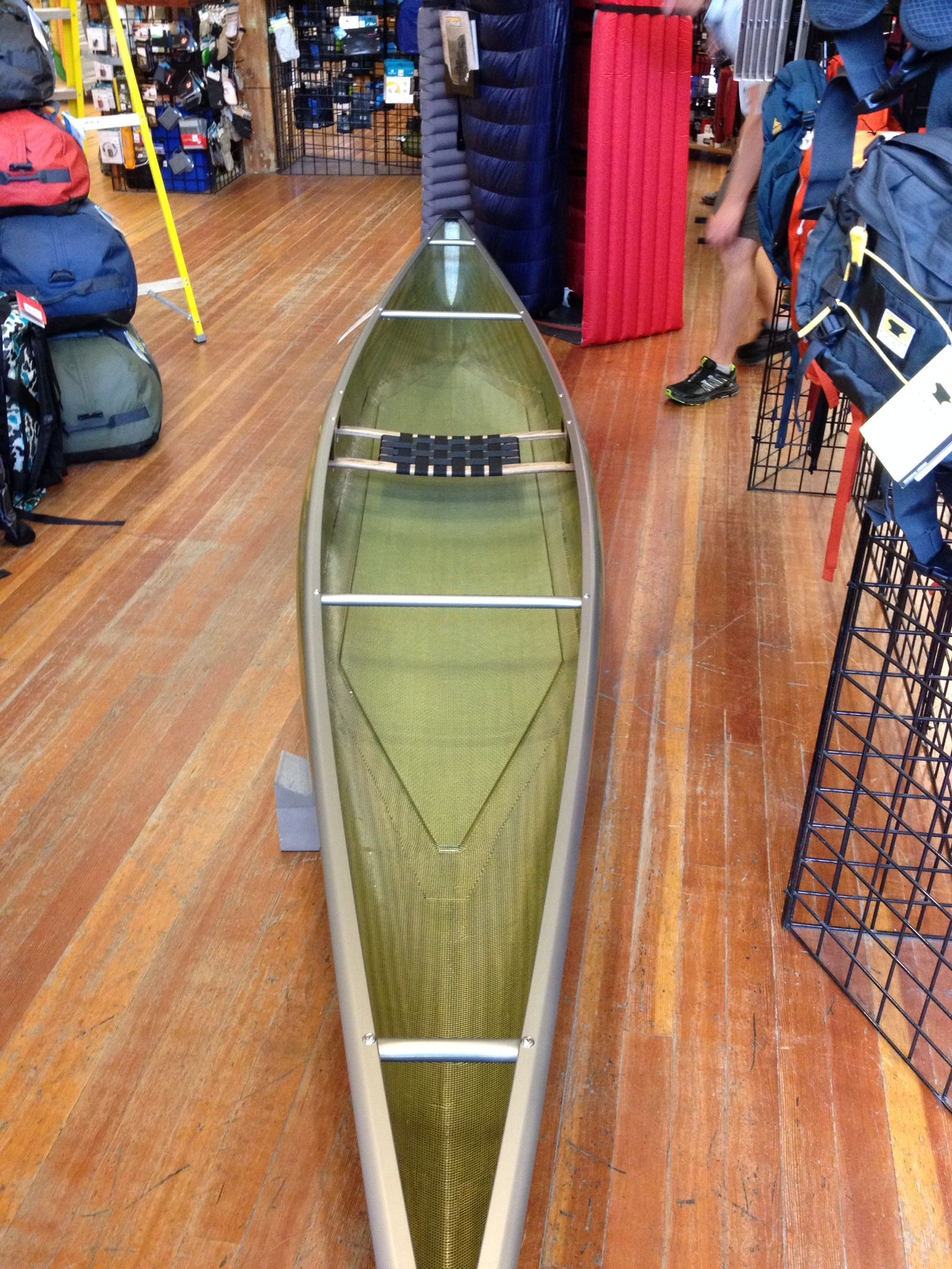 My Dream Solo Canoe Northstar Northwind Solo Designed By