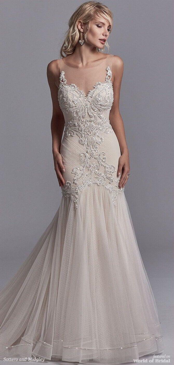 Sottero and midgley spring sexy wedding dress weddingdress