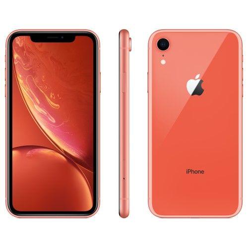 Straight Talk Prepaid Apple iPhone XR 64GB, Coral Iphone