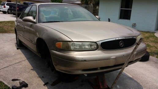 2001 Buick Century New Cv Axles And Front Brakes Mobile Auto Repair Buick Century Auto Repair