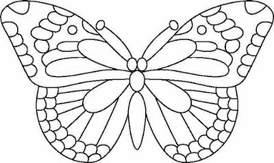 Butterfly Pattern   ... designs: glass painting designs : butterfly ...