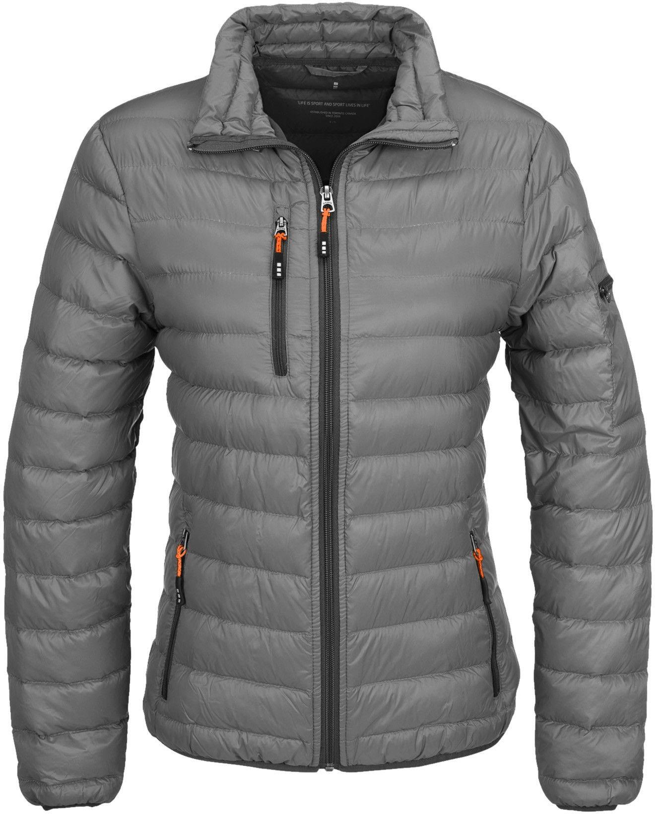 Unisex Slazenger Fleece Jacket Zip Coat Warm Winter New Top White Black