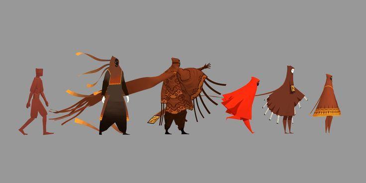 Cloaked Figure designs - Journey [Matthew Nava]