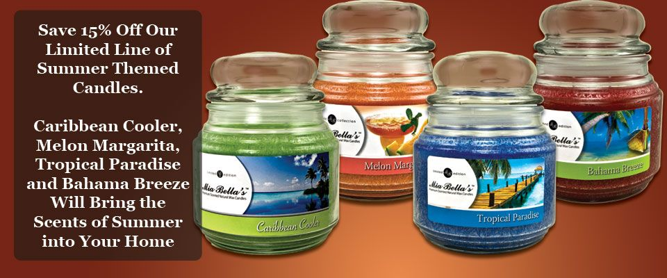 Scent-Sations, Inc. - Ah the scents of Summer on sale now 15% off, order now at www.miabellalife.scent-team.com