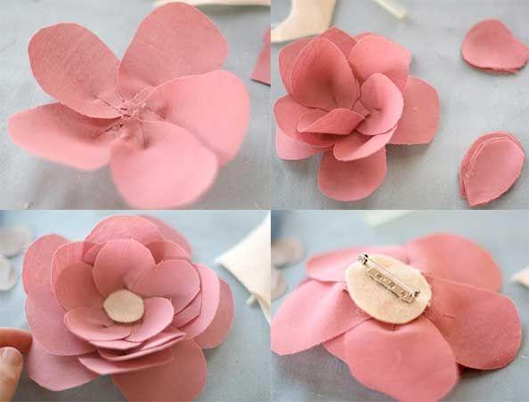 Como hacer una flor para el cabello decoraciones for Decoraciones para el pelo