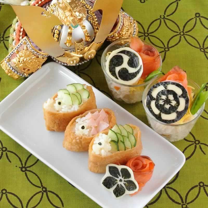 人気武将も参戦 子供の日は簡単 家紋デコ で寿司パーティでござる