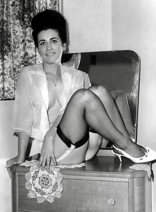 Pin by John Leak on Stockings & Garters | Vintage lingerie