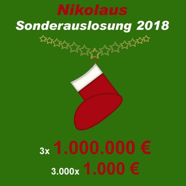 Nikolaus Sonderauslosung Lotto