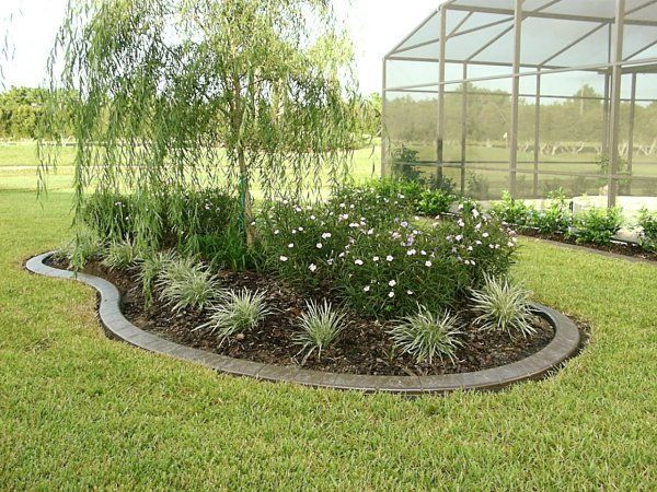 Ideas For Small Island Shape Garden For Center Of Navk Yard