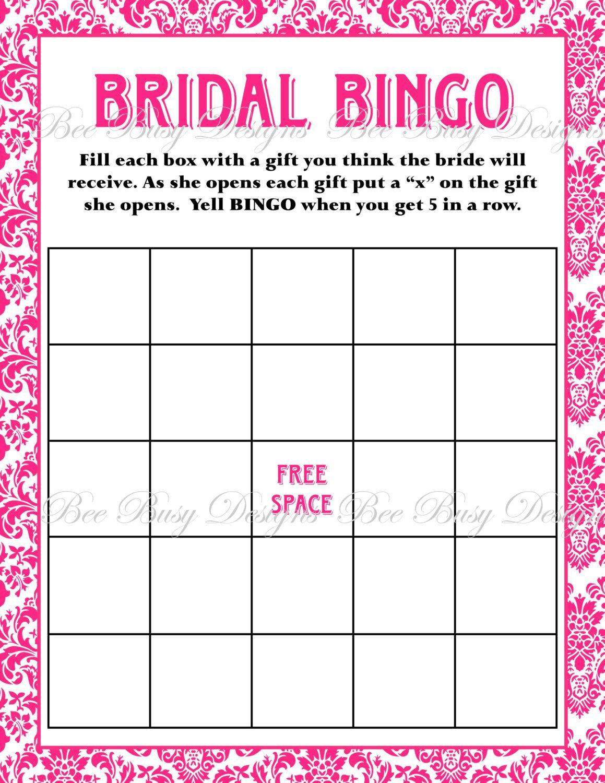 Free Bridal Bingo Template Bridal Shower Bingo Template Pertaining To Blank Bridal Shower Bi Bridal Shower Bingo Printable Bridal Shower Bingo Bridal Bingo Bridal bingo free template blank
