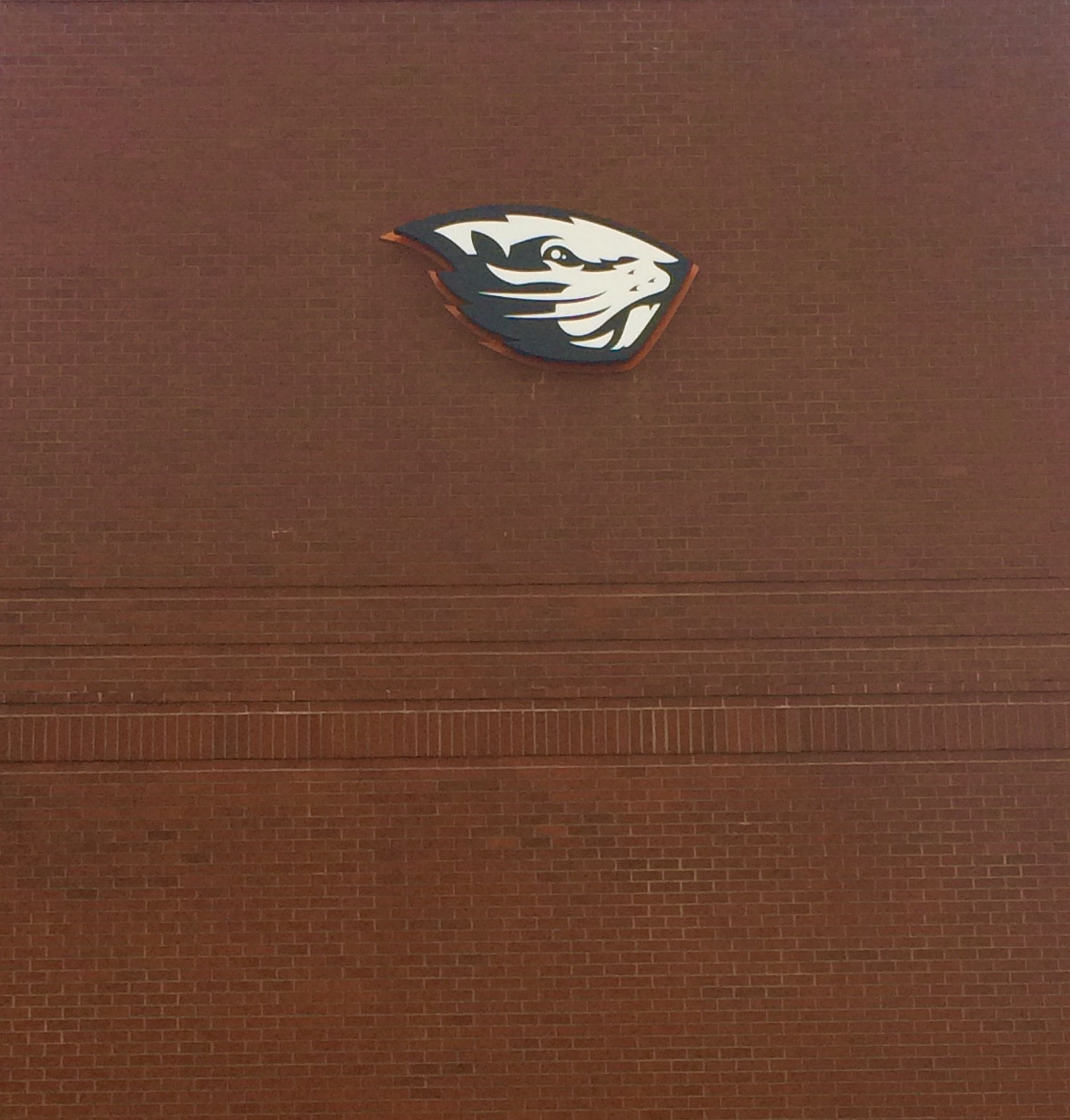 The new Beaver logo on the side of the baseball stadium is an example of a mnemonic device. The Beaver is a symbol for Oregon State University, so when we see this logo we automatically think of our school. This is true for schools everywhere, their mascot or symbol represents their school, its name, and the mascot in most cases.