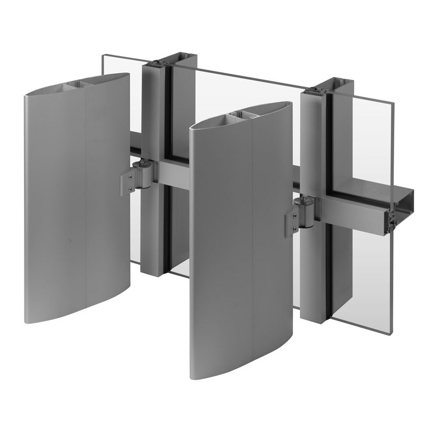 Versoleil Sunshade Single Blade System For Curtain Wall