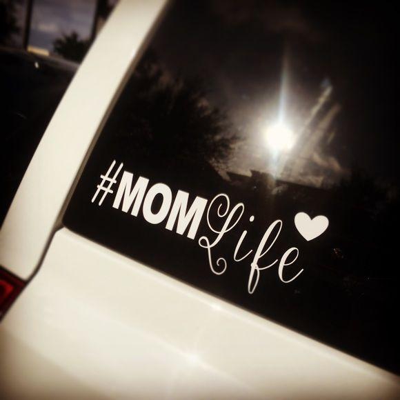 #MOMLife car decal
