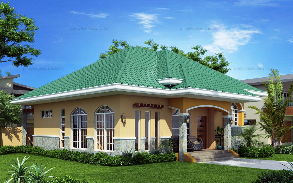 HouseElevated Bungalow house plan is Marcela model with 3 bedrooms and  . Elevated Home Designs. Home Design Ideas