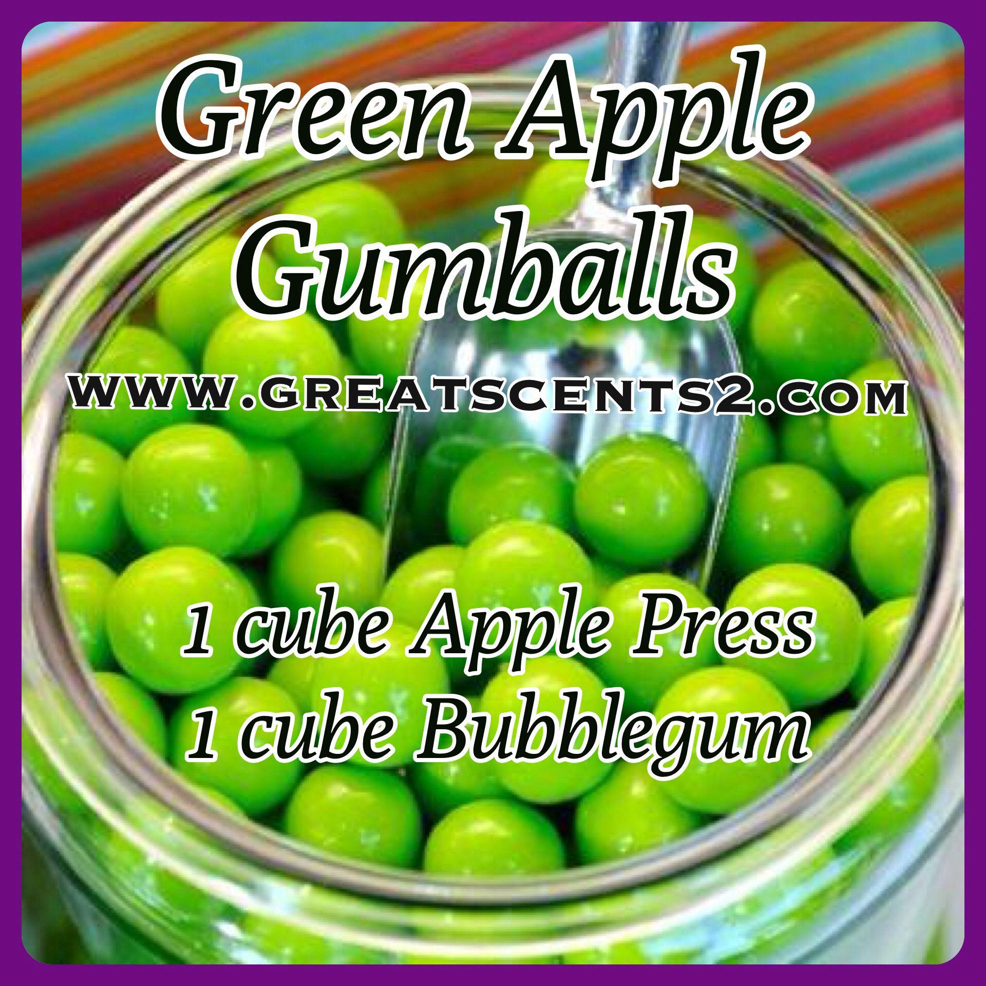 Green Apple Gumballs Scentsy Recipe