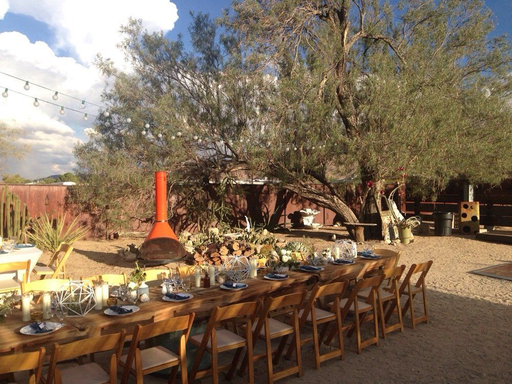 desert hipster wedding venue Google Search Garden