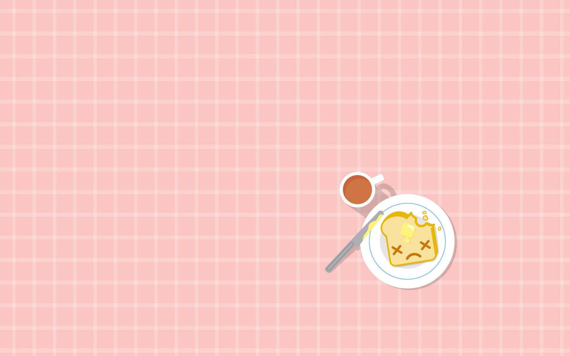 Cute Adorable Fun (Junk) Food Wallpaper Cute food