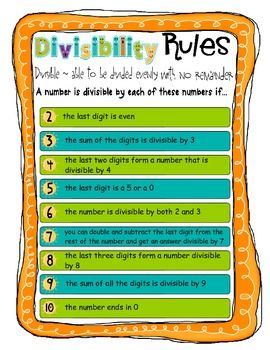 math worksheet : divisibility rules worksheet pdf  free divisibility rules pdf  : Divisibility Tests Worksheet