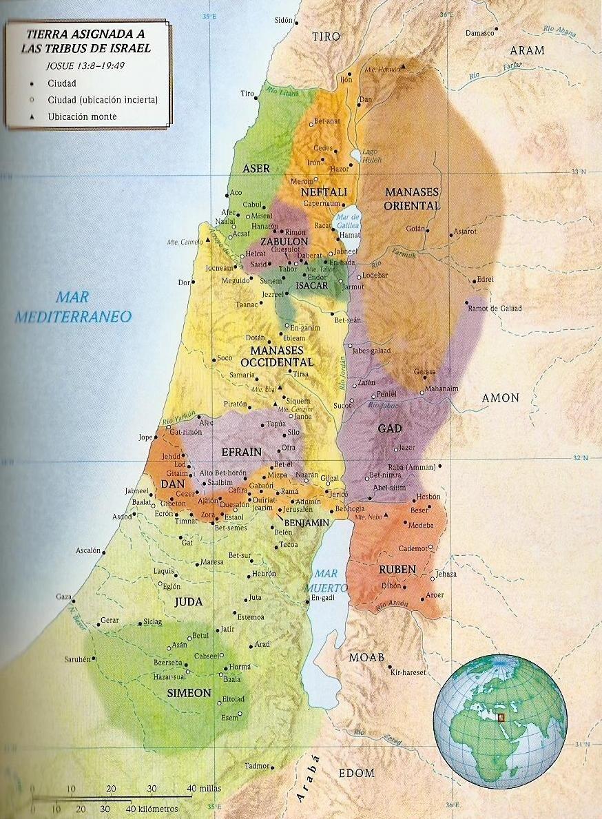Mapa De Emaus Israel Búsqueda De Google Tribu Mapa De La Tierra Israel