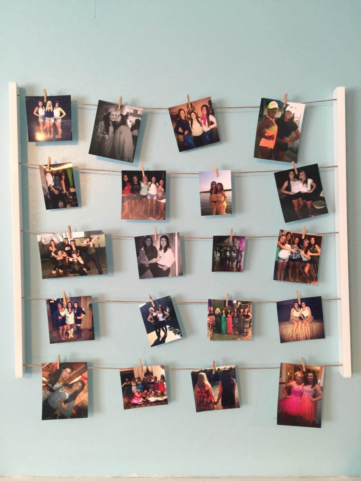 Amazonsmile Umbra Hangit Photo Display Diy Picture Frames Collage Set Includes Picture Hanging Wire Twine Hanging Photos Diy Photo Display Picture Hanging