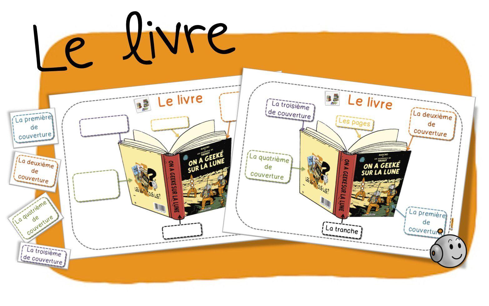 le livre et son vocabulaire sp u00e9cifique  couvertures  tranche  r u00e9sum u00e9  etc