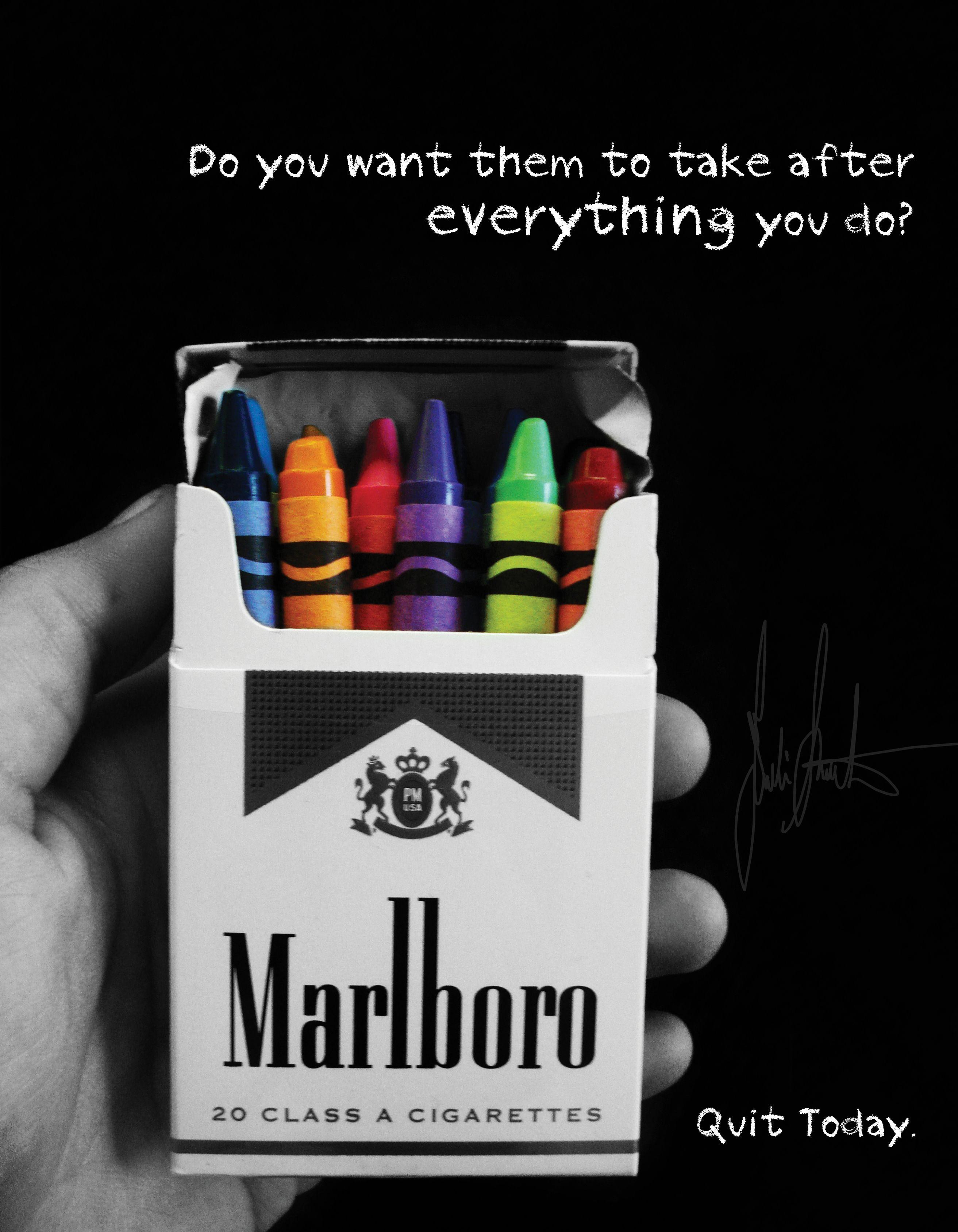 1. Headline The headline of the advertisement is 'Malboro ...