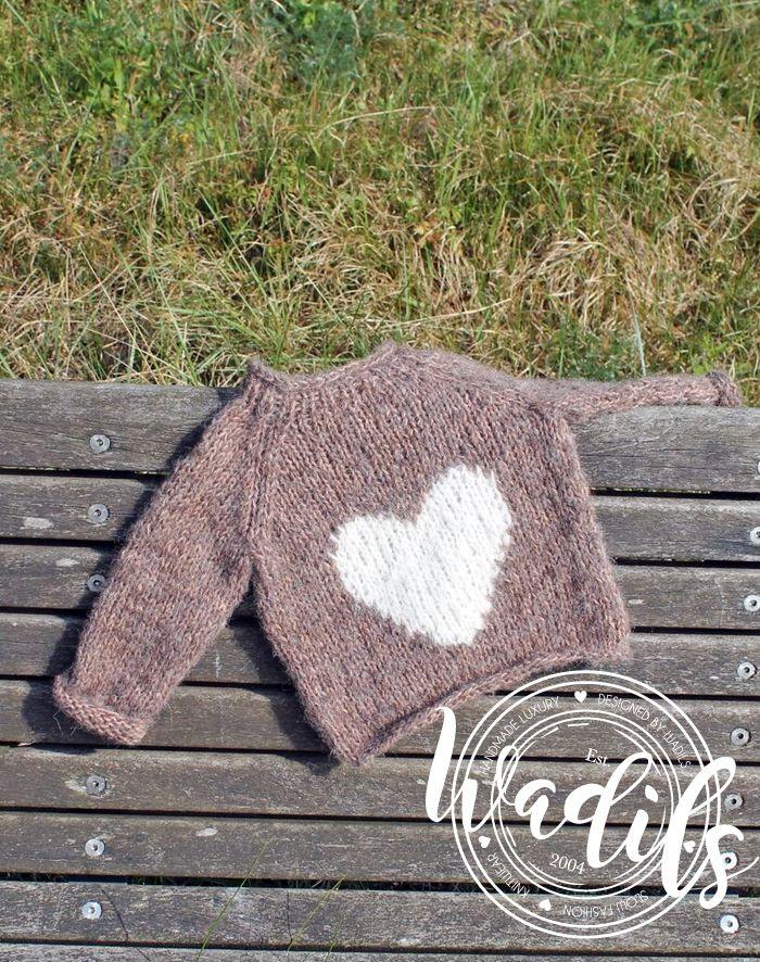 Photo of Lille hjerte bluse – opskrift