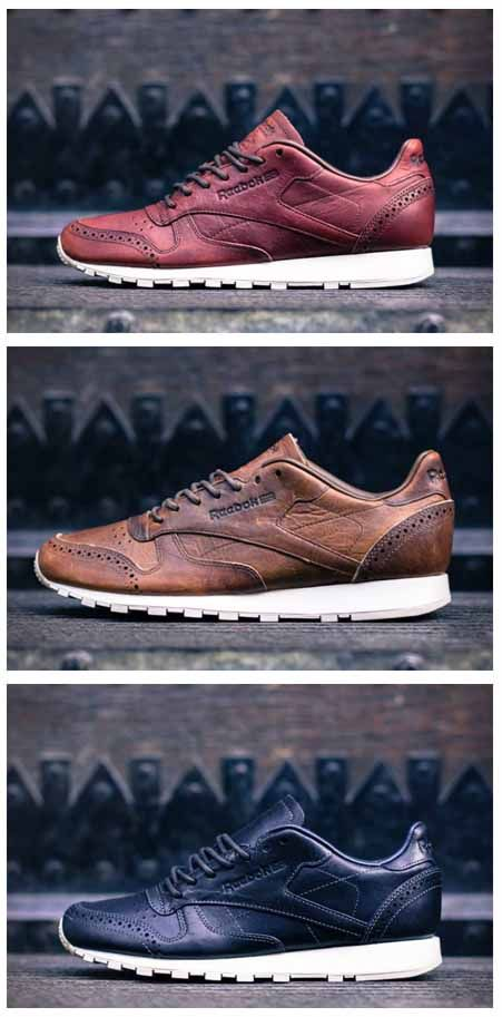 reebok classic leather lux horween brogue