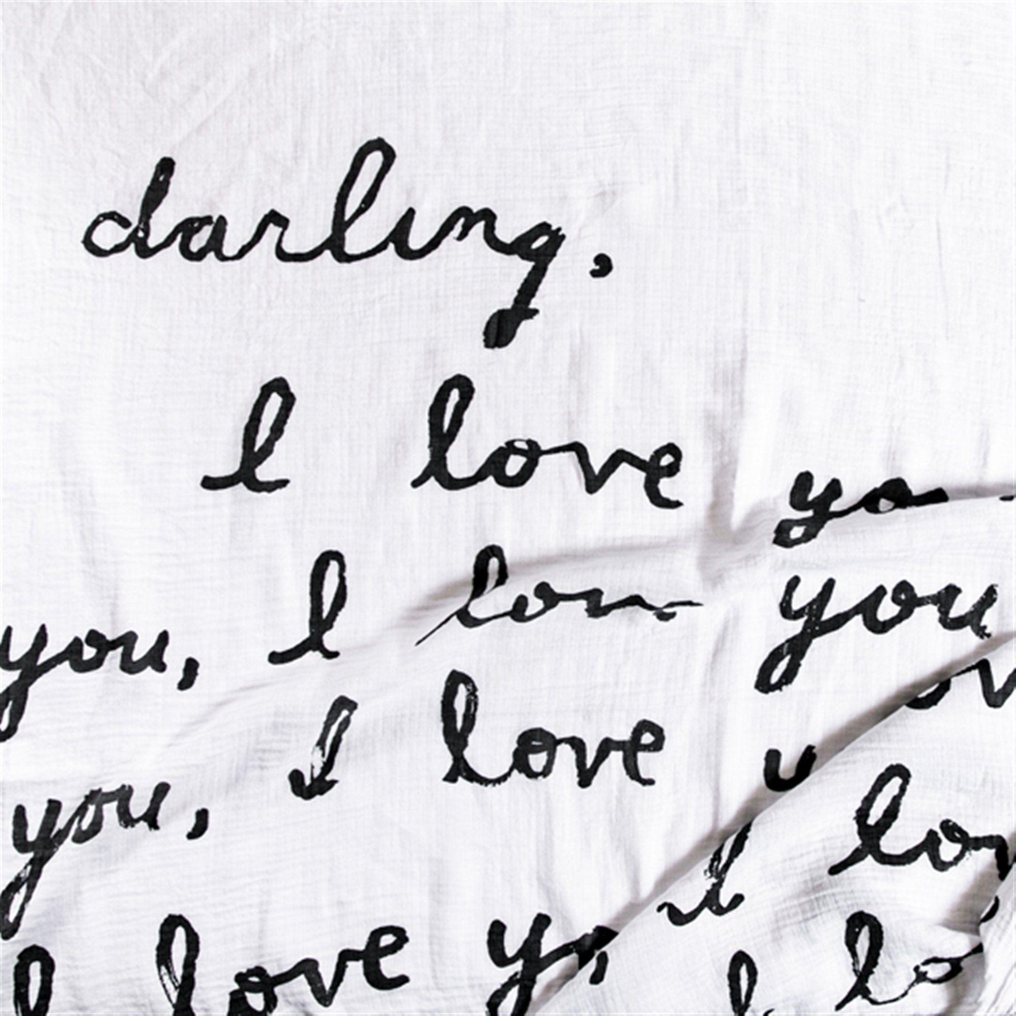 Swaddle Blanket Letter For You
