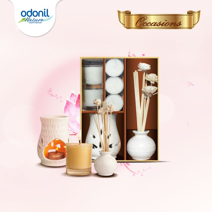 Create your own dream with this calming Odonil Occasions Aroma Combo Pack.  Turn your dream into reality at http://www.daburaroma.com/