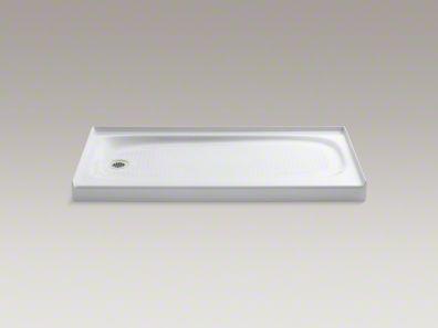 Kohler Salient 60 X 30 Cast Iron Shower Base 906 60 Shower