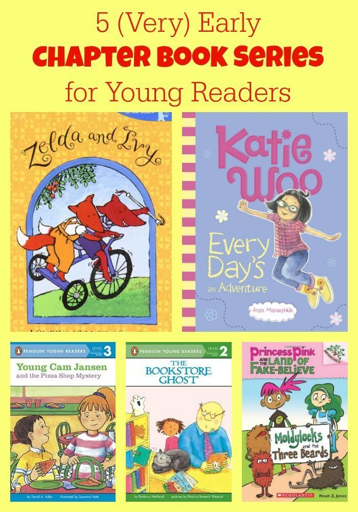 5 Very Early Chapter Book Series For Young Readers Book Lists