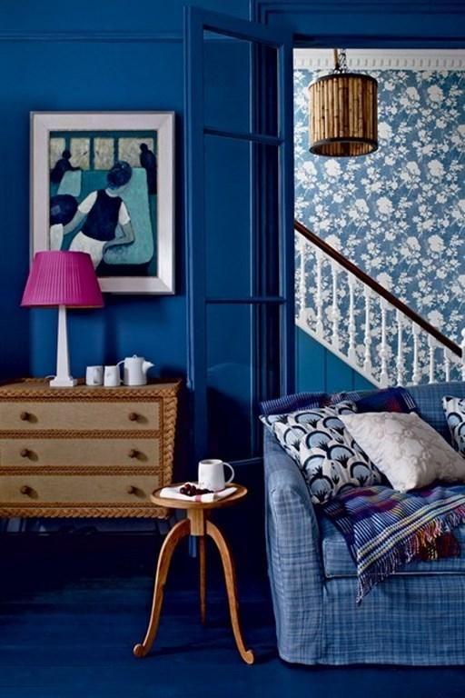Monochromatic Living Room Idea House Interiordesign Home